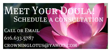 Grand rapids birth doula west michigan doula